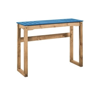 Manhattan Comfort Mid- Century Modern Stillwell 47.3 Inch Bar Table