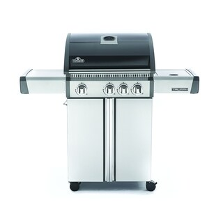 Triumph® 410 Propane Gas Grill with Side Burner