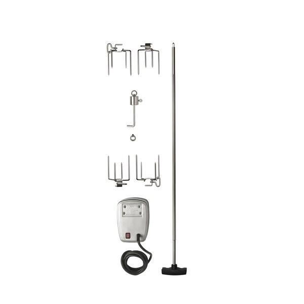 Commercial Grade Rotisserie Kit for Large Grills 35466462