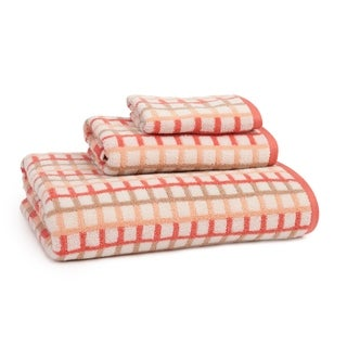 Provence Check 3 Piece Towel Set