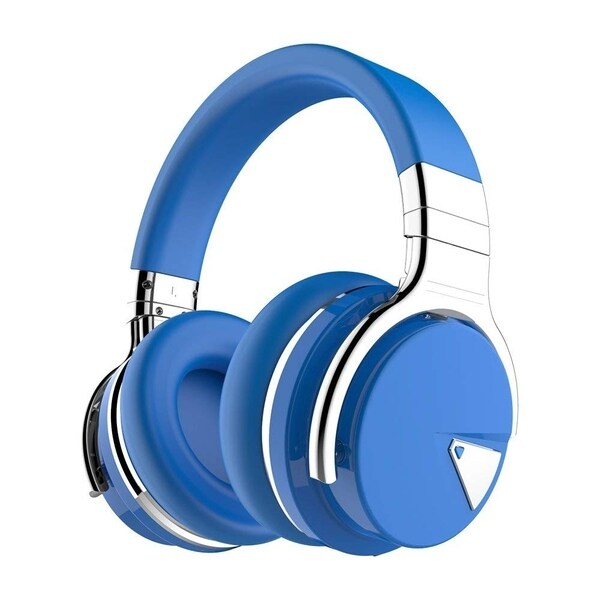 b8e0fd16b2d Cowin E7 Active Noise Cancelling Bluetooth Over-Ear Headphones with  Microphone, Hi-Fi