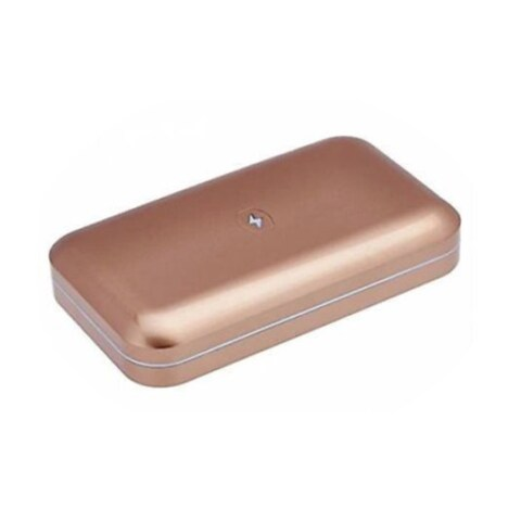 PhoneSoap 2.0 Phone Sanitizer and Universal Charger Gold