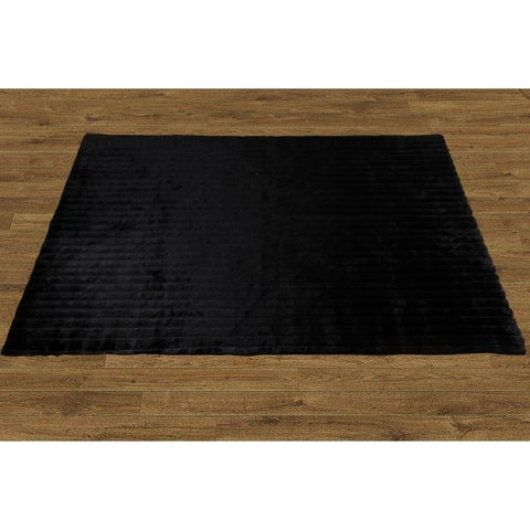 Serenta Faux Fur Rug with Slip Stopping Pad 5' x 7' - 5' x 7'