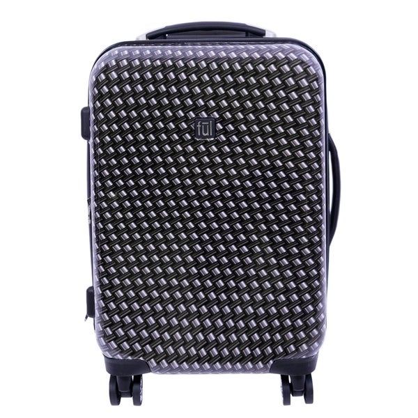 FUL Metal Chain 20-inch Carry On Hard-side Spinner Suitcase