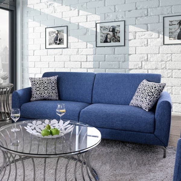 Shop Rollins Contemporary Sofa by FOA - On Sale - Free ...