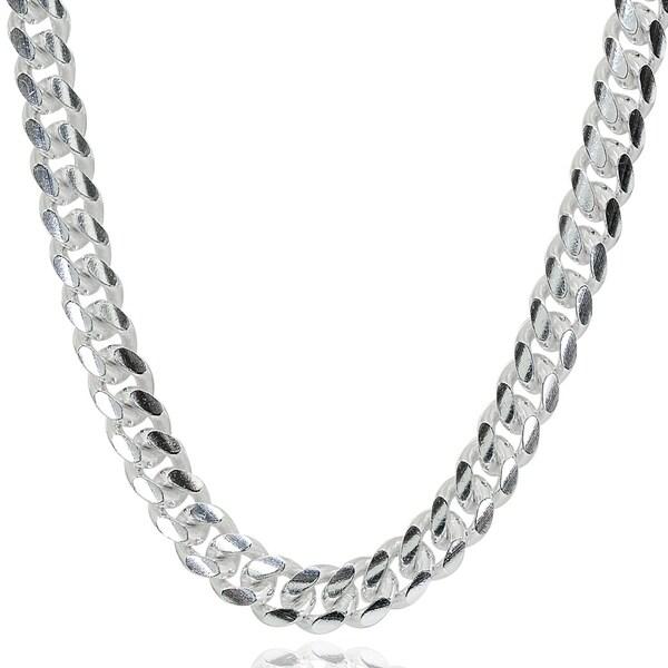 fd5ea6f8804a Mondevio 5mm 925 Silver Miami Cuban Curb Link Chain Necklace, 20-30 Inch