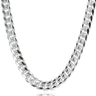 Mondevio 5mm 925 Silver Miami Cuban Curb Link Chain Necklace, 20-30 Inch