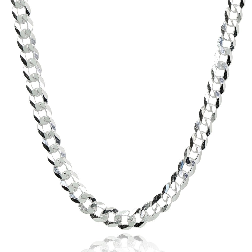 925 Sterling Silver Necklace Sparkle-Cut Wheat Chain in Silver Choice of Lengths 16 18 20 24 and 1.5mm 1mm 2mm