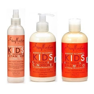 SheaMoisture Mango & Carrot Kids Hair Care Set