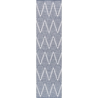 "Simplicity Collection Hand-Woven Cotton Runner (2' 6"" X 8' 0"") - 2'6"" x 8' Runner"