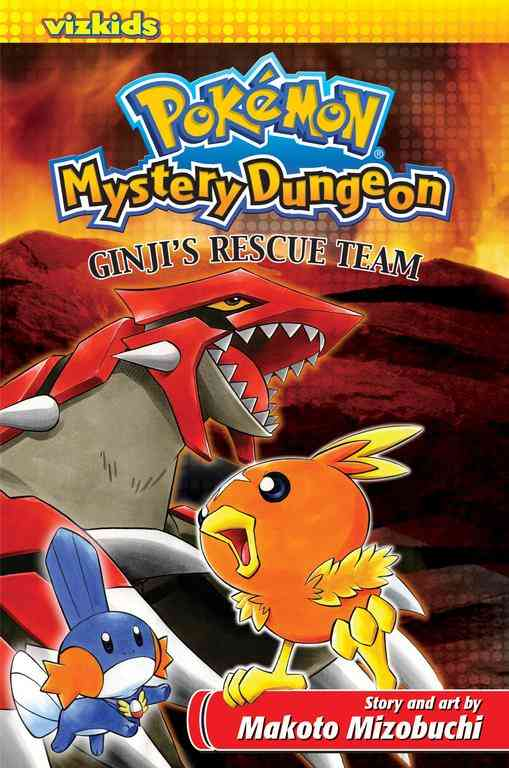 Pokemon Mystery Dungeon: Ginji's Rescue Team (Paperback)