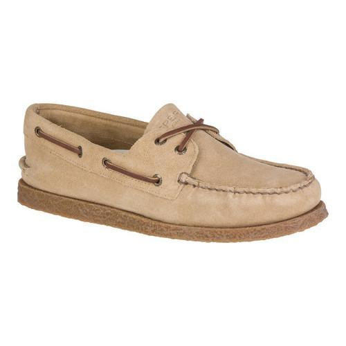 c83aa57de6 Shop Men s Sperry Top-Sider Authentic Original Boat Shoe Sand Suede - Free  Shipping Today - Overstock - 18493086