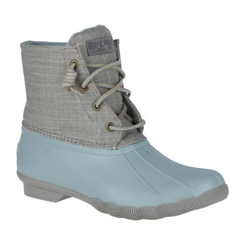 a9ceef7dc Shop Women's Sperry Top-Sider Saltwater Duck Boot Abyss Rubber/Grey ...