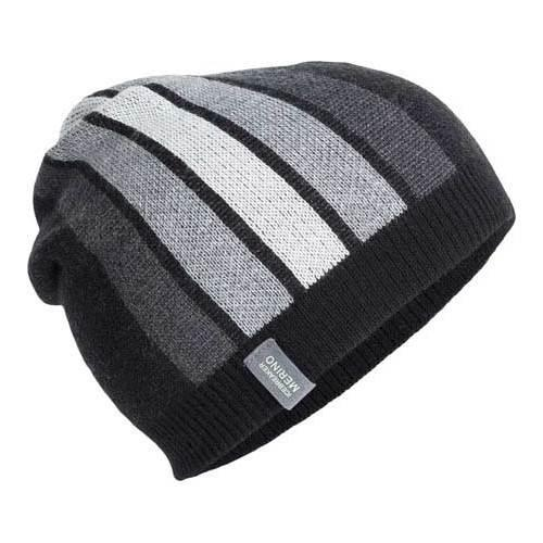 2eaaa092f2c Shop Icebreaker Coronet Beanie Black Jet Heather Metro Heather - Free  Shipping On Orders Over  45 - Overstock - 18480408