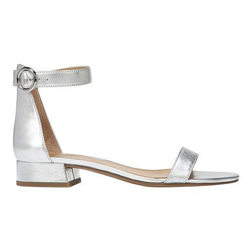 eee1aba4464 ... Thumbnail Women  x27 s Franco Sarto Swan Ankle Strap Sandal Silver  Metallic Leather ...