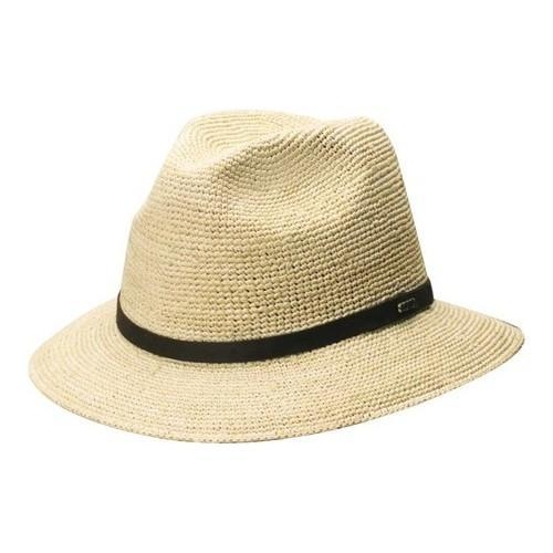 6c50ecbd5561a Shop Men s Scala MR2OS Fine Crocheted Safari Hat Natural - On Sale - Free  Shipping Today - Overstock.com - 18512890