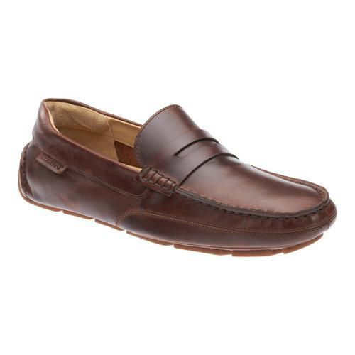 7982a5ff88b Shop Men s Sebago Kedge Penny Loafer Brown Oiled Waxy Leather - Free  Shipping Today - Overstock - 18512915