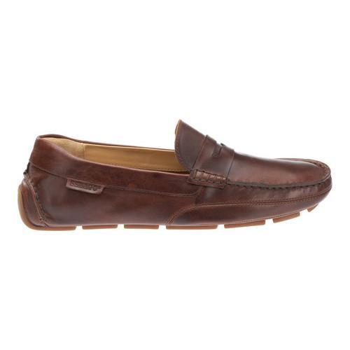8236b056615 ... Thumbnail Men  x27 s Sebago Kedge Penny Loafer Brown Oiled Waxy Leather  ...