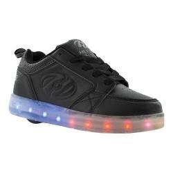 Children's Heelys Premium 1 Lo Light Up Sneaker Triple Black