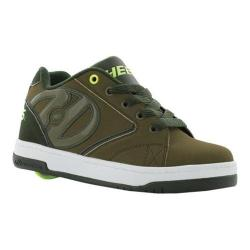 Children's Heelys Propel 2.0 Olive/Dark Green/Bright Yellow