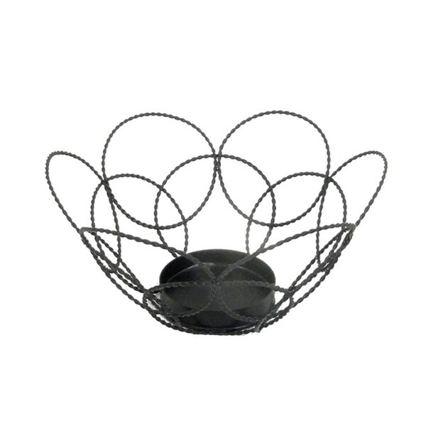 Sagebrook Home 11676 Metal Tealight Candle Holder Metal, 5.25 x 5.25 x 3 Inches