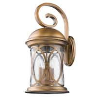 Acclaim Lighting Lincoln 23-inch Outdoor Wall Light in Antique Brass