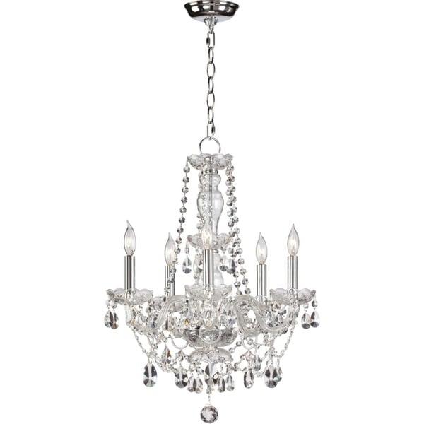 Katerina Crystal 5-light Chandelier