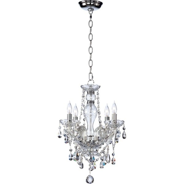 Katerina Crystal 4-light Chandelier