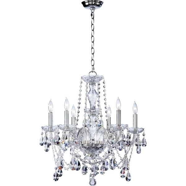 Katerina Crystal 6-light Chandelier