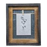 "Danya B. Rustic 4"" x 6"" Vertical Wood Picture Frame"