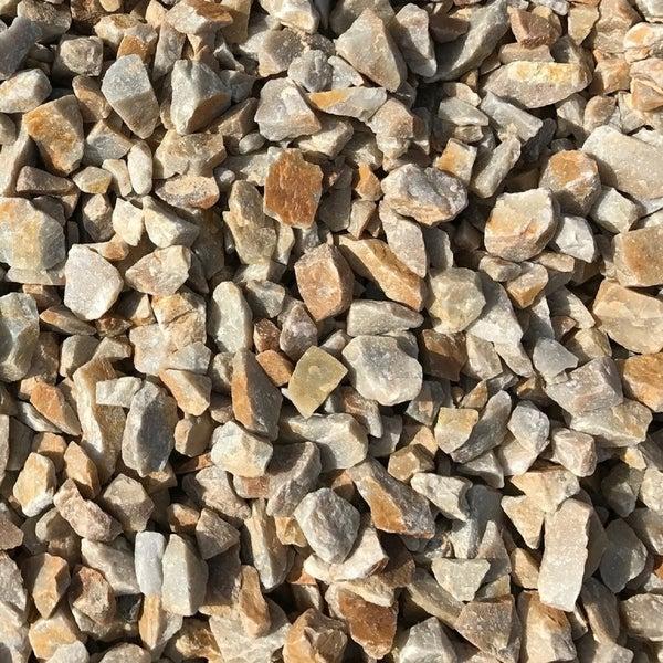 3/4-inch Honey Gold Granite Landscaping Gravel (40 lb. Bag)