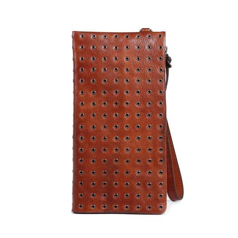 Calla Leather Clutch - Small