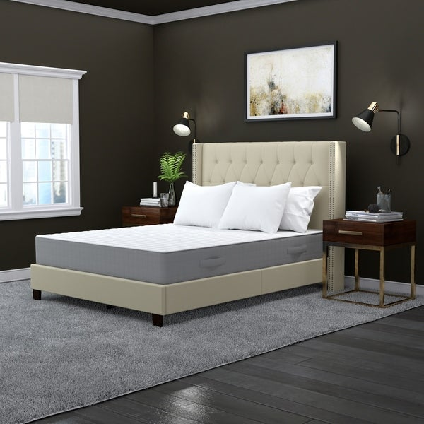 Handy Living Queen Latex Foam and Pocketed Coil 11-inch Mattress
