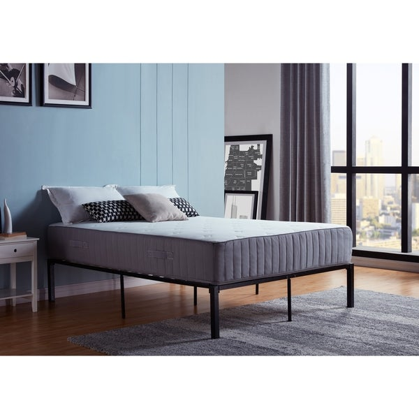 Handy Living Twin Memory Foam and Double Layer Coil 11-inch Mattress