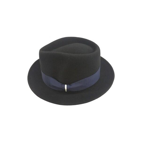 fa28a55f6a3fd Access Headwear Men  x27 s Alpas Russell 100-percent Wool Felt Classic  Fedora