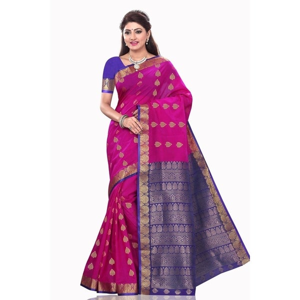 28f6438efae2d Shop Madhu Violet Art Silk Sari Saree Bellydance Wrap - On Sale - Free  Shipping Today - Overstock - 21334316