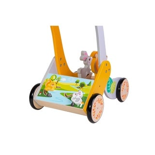 Wooden Forest Baby Walker