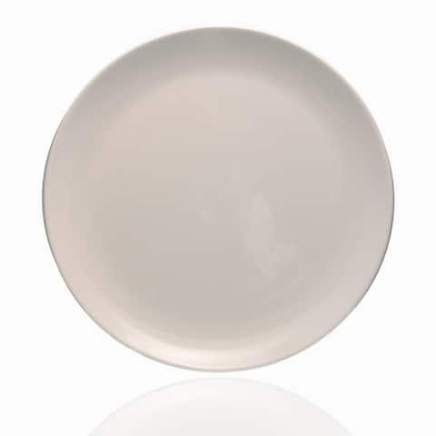 """Forte White Dinner Plate 10.75"""" Set /6"""