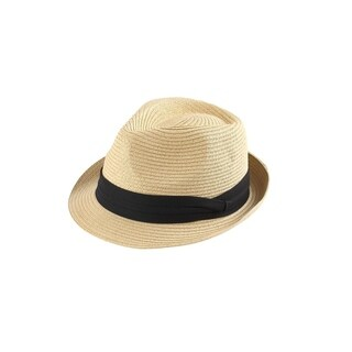 Access Headwear Men's Sun Styles Rico Classic Trilby Style Foldable Fedora Hat (6 Colors Available)