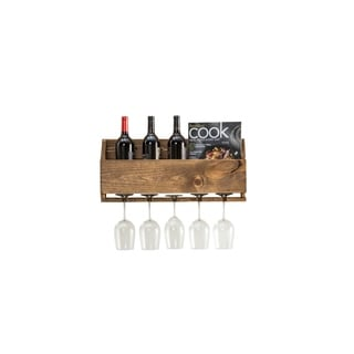 Handmade Little Elm Wine Rack