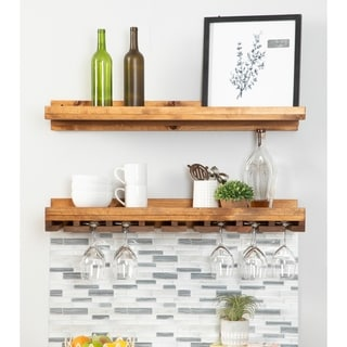 Link to Del Hutson Designs Rustic Luxe Wine Set Similar Items in Kitchen Storage