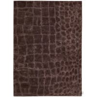 """Calvin Klein Canyon """"Marsh"""" Peat Area Rug by Nourison - 5'3"""" x 7'5"""""""