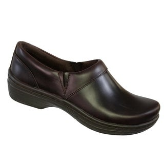 Klogs Mission Womens Clog Shoes Mahogany