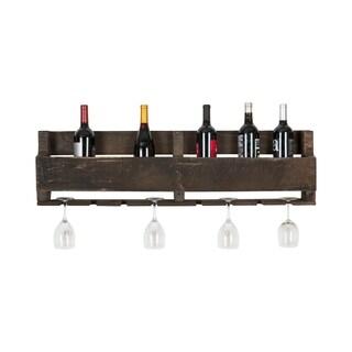 Del Hutson Designs Isabella Pallet Wine Rack