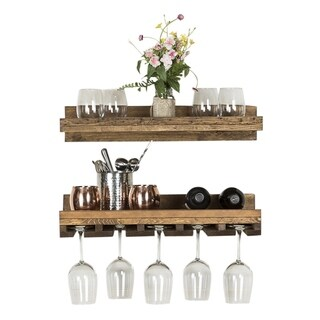 Del Hutson Designs Rustic Luxe Wine Set, 24""