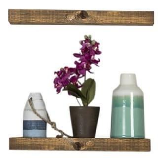Handmade Del Hutson Designs True Floating Shelf, Set of 2
