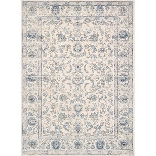 Chelsea Design Machine Made Ivory Power Loom Area Rug (9' X 12') - 9' x 12'