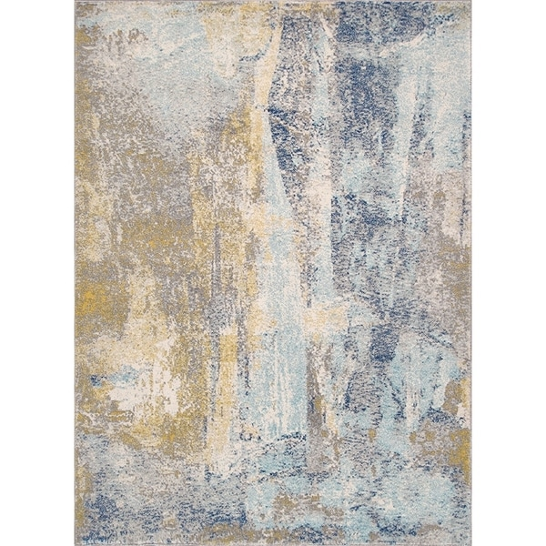 "Chelsea Design Multi Machine Made/Power Loom Rug (6' 7"" X 9' 0"") - 7' x 9'"
