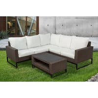 Venice 4-Piece Modern Patio Sectional Set by Westin Outdoor
