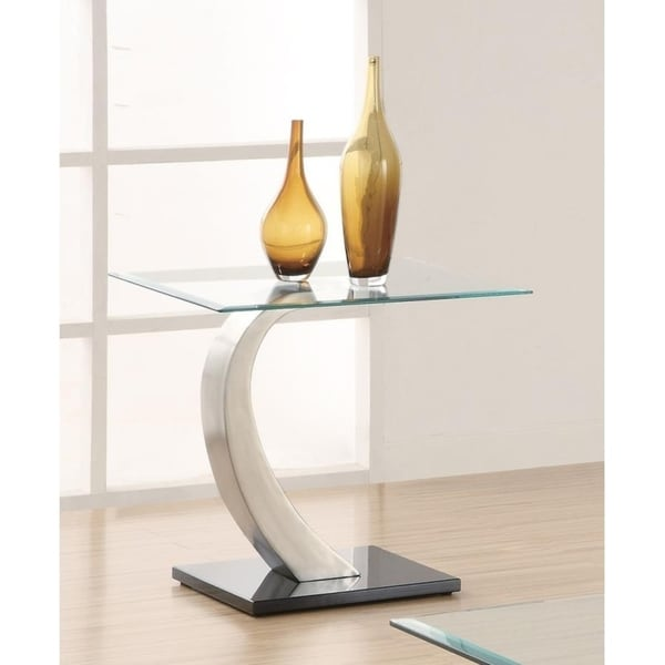 """Contemporary End Table - 24"""" x 22"""" x 23.50"""""""